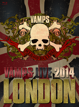 Blu-ray&DVD『VAMPS LIVE 2014: LONDON』 (okmusic UP's)
