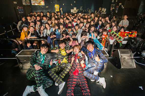 3月12日@渋谷TSUTAYA O-crest (okmusic UP\'s)