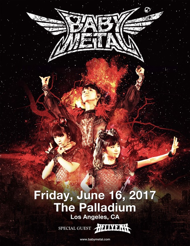 『BABYMETAL US TOUR 2017 SPECIAL HEADLINE SHOW IN LA』