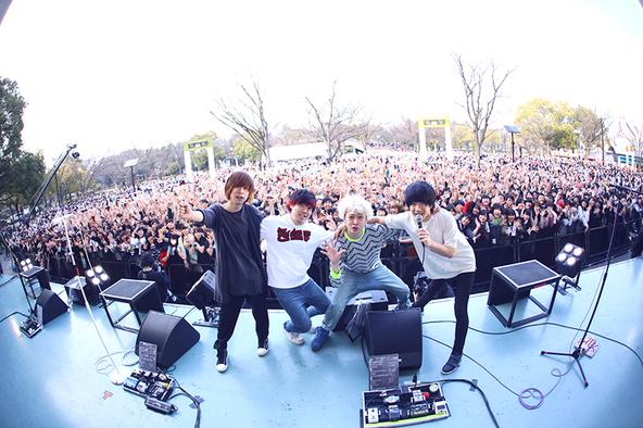 3月29日@代々木公園野外ステージ (okmusic UP\'s)