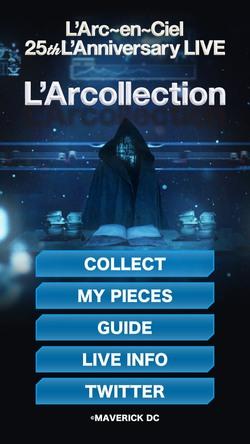 L'Arcollection ゲーム画面 (okmusic UP's)