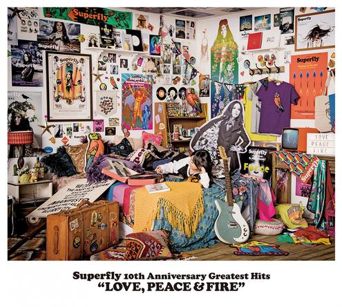 アルバム『LOVE, PEACE & FIRE』【通常盤】(3CD) (okmusic UP's)