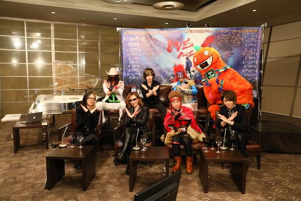 『映画「WE ARE X」大ヒット&ロングラン記念・ X JAPAN・YOSHIKI & GLAY・HISASHI生出演 &映画未公開映像初公開+真相究明+新たな発表』より (okmusic UP\'s)