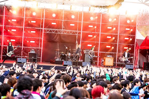 4月1日@愛・地球博記念公園(coldrain) (okmusic UP's)