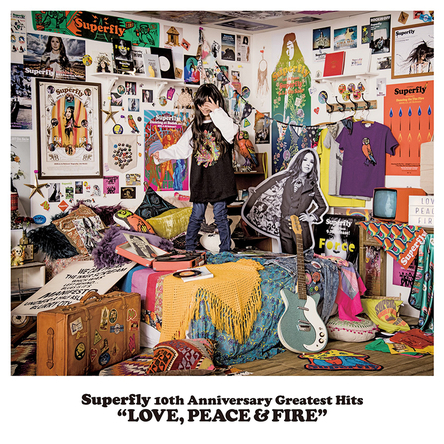 アルバム『LOVE, PEACE & FIRE』【初回限定盤】(4CD)  (okmusic UP\'s)