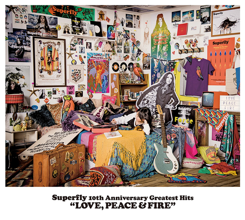 アルバム『LOVE, PEACE & FIRE』【通常盤】(3CD)  (okmusic UP's)