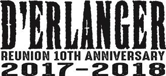 D'ERLANGER 10周年ロゴ (okmusic UP's)