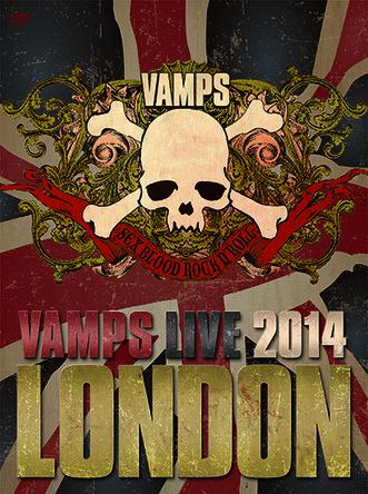 DVD / Blu-ray『VAMPS LIVE 2014: LONDON』 【通常盤A】 (okmusic UP's)