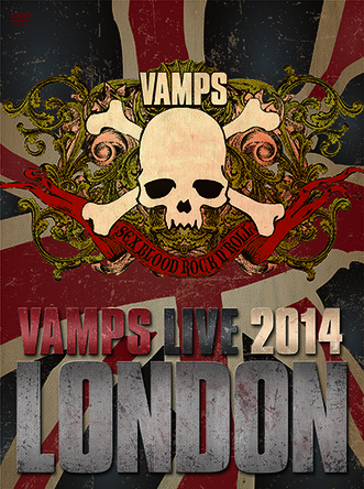 DVD / Blu-ray『VAMPS LIVE 2014: LONDON』 【通常盤B】 (okmusic UP's)