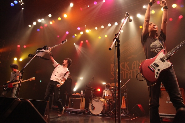 【the pillows】 6月25日@東京・渋谷TSUTAYA O-EAST (okmusic UP's)