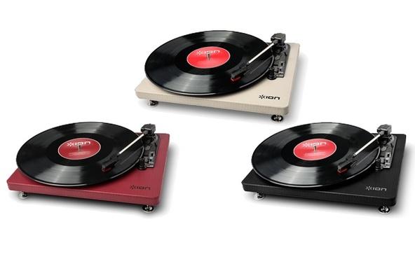 ION Audio Compact LP <Burgundy> (okmusic UP's)