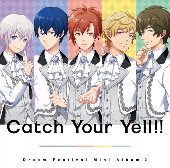 DearDream『Catch Your Yell!!』ジャケット (C)BNP/BANDAI, DF PROJECT