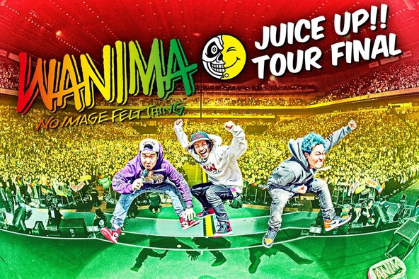 DVD/Blu-ray「JUICE UP!! TOUR FINAL」告知画像 (okmusic UP\'s)