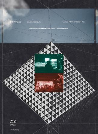 Blu-ray 「SAKANATRIBE 2014 -LIVE at TOKYO DOME CITY HALL- Featuring TEAM SAKANACTION Edition + Standard Edition」 (okmusic UP's)