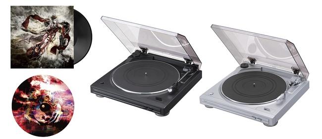 陰陽座、初アナログLP化に伴いレコードプレーヤーを数量限定発売! 老舗オーディオブランドDenonとコラボ