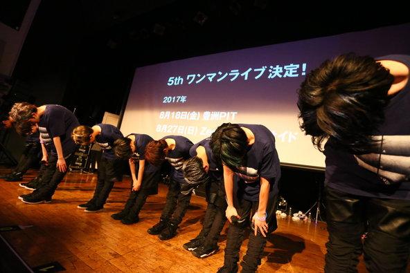 4月29日@大阪・umeda TRAD (okmusic UP's)