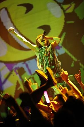 『「ワンマンツアー2017 ~メロディア王国にさよならバイバイ ワタシはみんなと旅に出る~」LIVE AT 2017.01.29 SHIBUYA TSUTAYA O-WEST』ダイジェスト映像 キャプチャ (okmusic UP's)