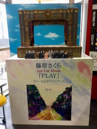 セカンドフルアルバム「PLAY」リリース記念フォトブース (okmusic UP's)