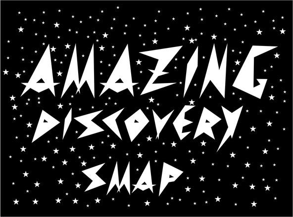 「Amazing Discovery」ロゴ (okmusic UP's)