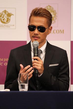 7月3日、品川プリンスホテルでの「第9回 クリスマス キャロル コンサート」記者会見 (okmusic UP's)