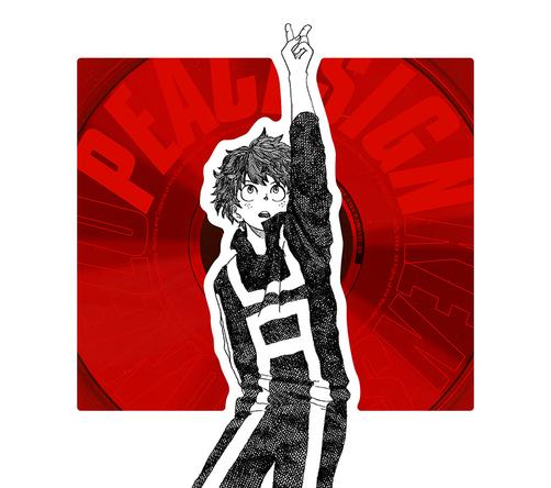 シングル「ピースサイン」【ヒーロー盤(初回限定)】(CD+赤ジュエルケース+ヒロアカTCGカード) (okmusic UP's)