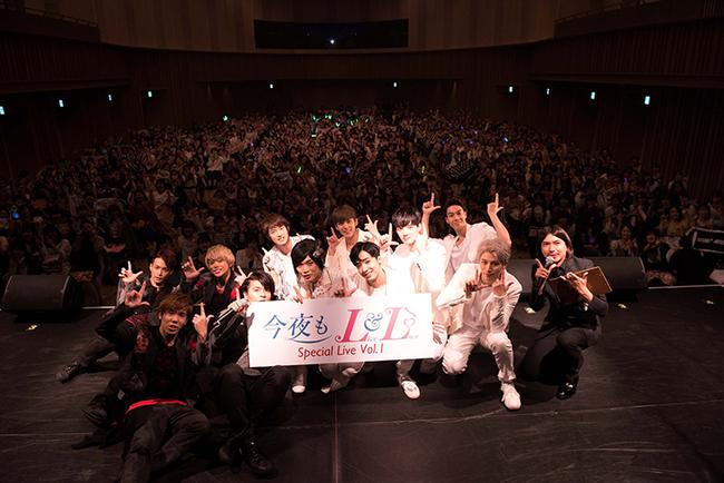 『今夜もLL』SPイベント東京公演にてパクドル、Boys Republic、WEBERがパフォーマンス!