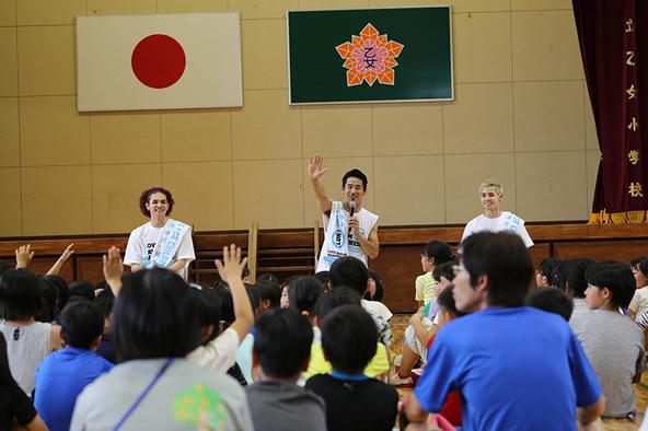 「夢の課外授業」@熊本・甲佐町立乙女小学校 (okmusic UP's)