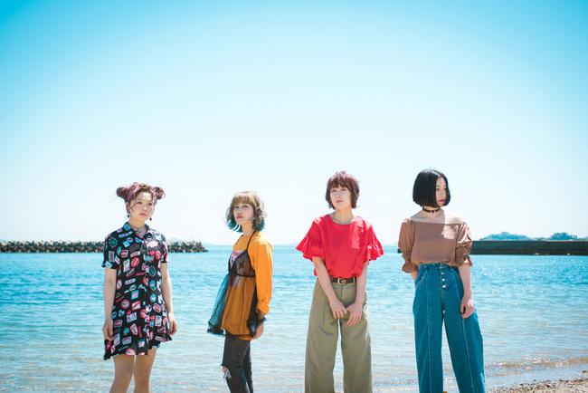 ポタリ、ニューシングルリリース発表&新しいアーティスト写真公開