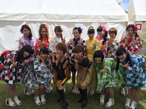 SUPER☆GiRLSが『瀬長島GIRLS POP FESTIVAL2014』にスペシャルゲストとして出演 (okmusic UP's)