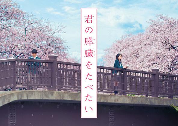 映画『君の膵臓をたべたい』ビジュアル (okmusic UP's)