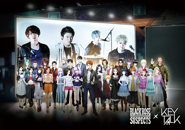 KEYTALK×「Black Rose Suspects」 (okmusic UP\'s)