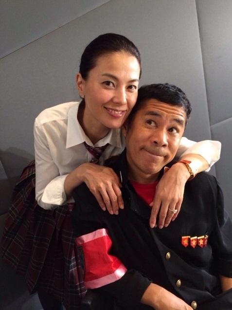 岡村隆史&江角マキコの「微笑ましいツーショット写真」に反響