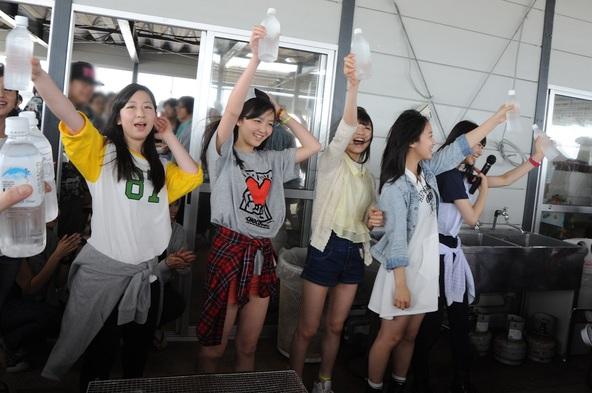 7月5日(土)、九十九里浜で東京女子流オフィシャルファンクラブ「Astalight*」限定イベントを開催 (okmusic UP's)