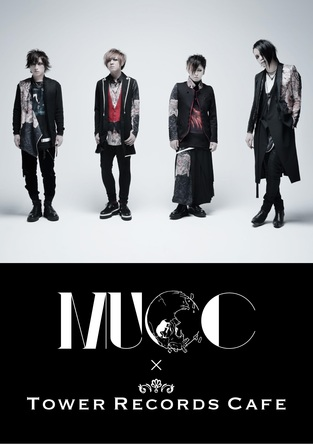 MUCC×TOWER RECORDS CAFE (okmusic UP's)