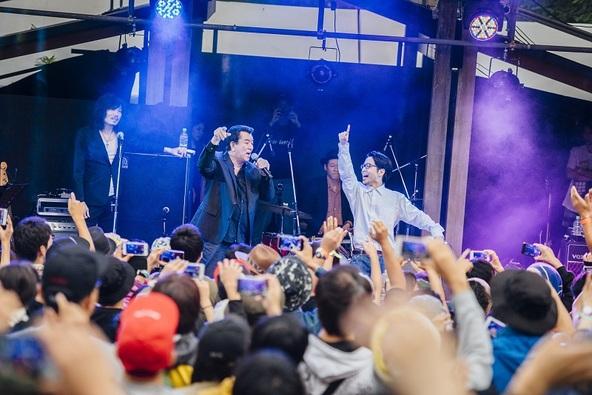『りんご音楽祭2016』THE King ALL STARS Guest PUNPEE(りんごステージ) (okmusic UP's)
