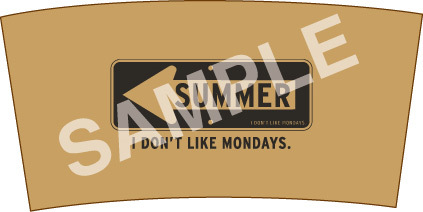 EP『SUMMER』購入特典(HMV:SUMMERロゴカップスリーブ ※フリーサイズ) (okmusic UP's)