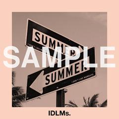 EP『SUMMER』購入特典(セブンネットショッピング:初回盤ジャケット写真絵柄オリジナルステッカー ※50mm×50mm予定) (okmusic UP's)