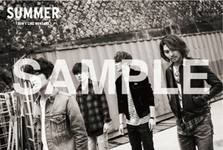 EP『SUMMER』購入特典(その他:メンバー全員絵柄オリジナルポストカード) (okmusic UP's)