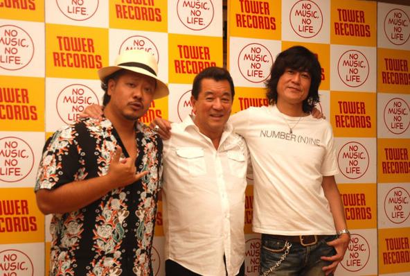 加山雄三×ヨサク(MONGOL800)×古市コータロー(ザ・コレクターズ) (okmusic UP\'s)