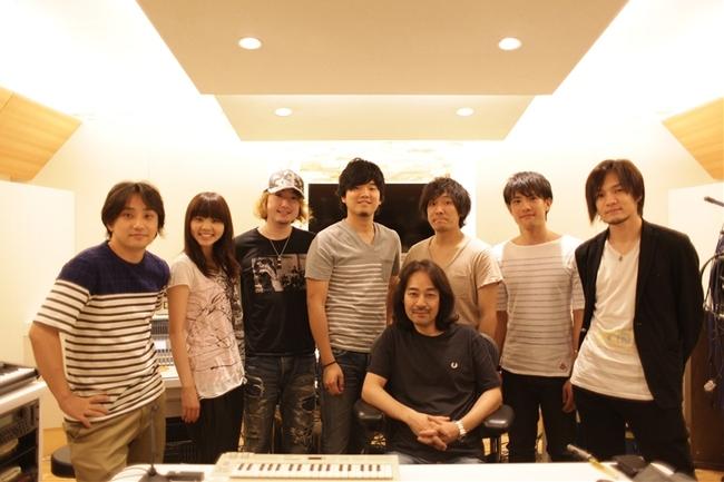 7月17日(木)、いきものがかり、秦 基博、back numberが島田氏のプライベートスタジオにて決起集会を実施