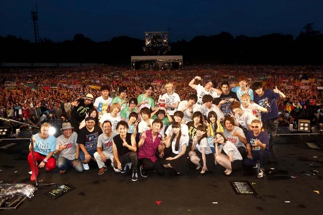 ポルノグラフィティ、Perfumeなどが出演した「BBQ in つま恋」が大盛況のうちに幕!