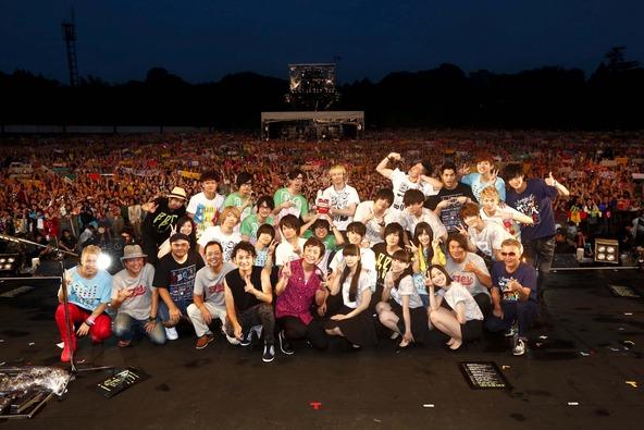 7月19日@ライブイベント「BBQ in つま恋 ~僕らのビートを喰らえコラ!~」 (okmusic UP's)