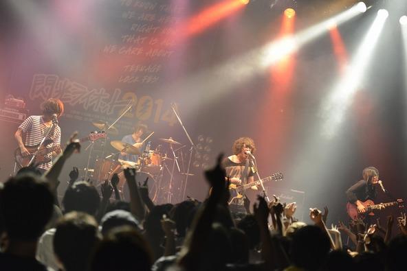 7月20日、大阪BIGCATで行われた「閃光ライオット」3次ライブ審査 (okmusic UP's)