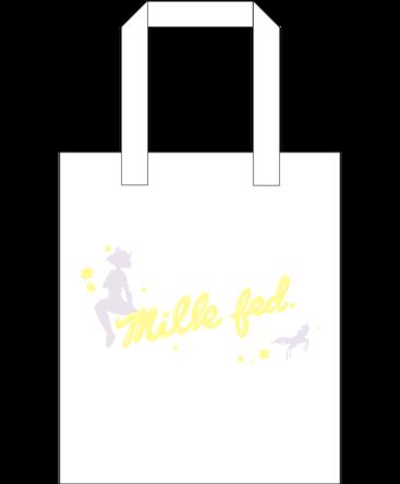 milkfed.×みみめめMIMI×KKBOX コラボレーション商品 TOTE BAG (okmusic UP's)