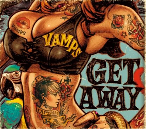 シングル「GET AWAY / THE JOLLY ROGER」【初回盤A】 (okmusic UP's)