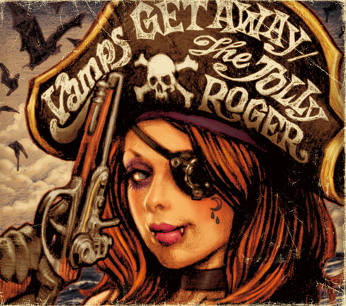 シングル「GET AWAY / THE JOLLY ROGER」【通常盤】 (okmusic UP's)