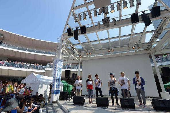 7月27日@ラゾーナ川崎プラザ2F ルーファ広場グランドステージ (okmusic UP's)