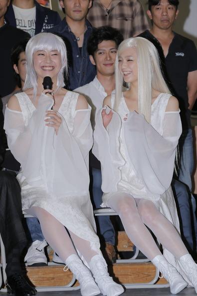 舞台「MOON SAGA -義経秘伝-」公開舞台稽古&ヒロイン「陽和」役をお披露目 (okmusic UP's)