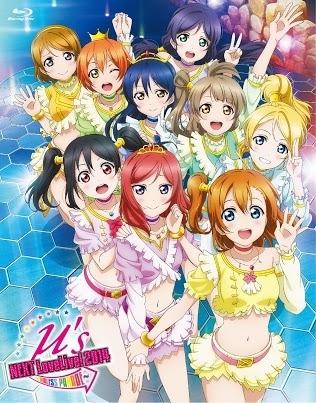 「ラブライブ! μ's →NEXT LoveLive! 2014~ENDLESS PARADE~」Blu-rayジャケット画像 (C)2013 プロジェクトラブライブ!