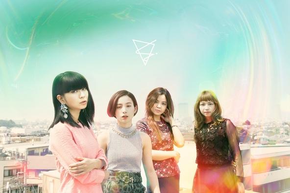 FLiP 写真左から、Sachiko(Vo&Gt)、Yuumi(Dr&Cho)、Yuko(Gt&Cho)、Sayaka(Bass&Cho) (okmusic UP's)
